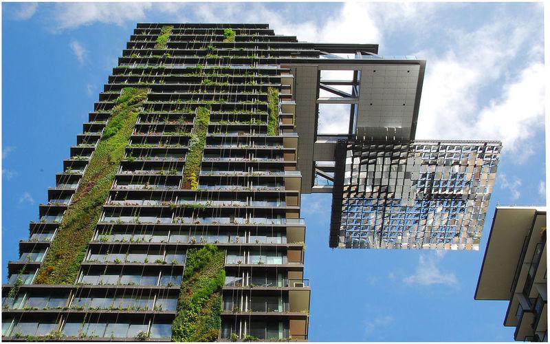 One Central Park-architecture commerciale-écologique et durable