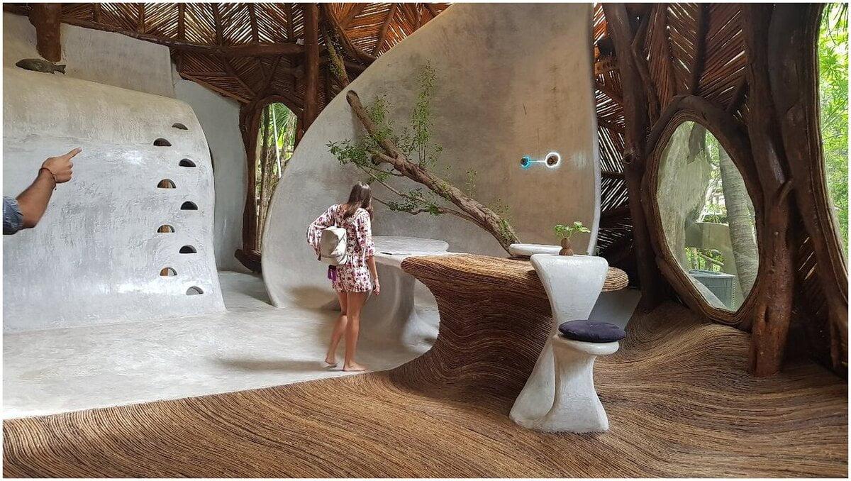 Musée d'art écologique Mexique