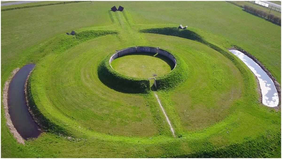 œuvres écologique Land art