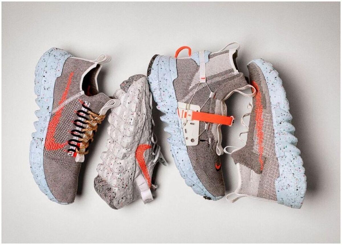 Nike réutilisation d'une chaussure
