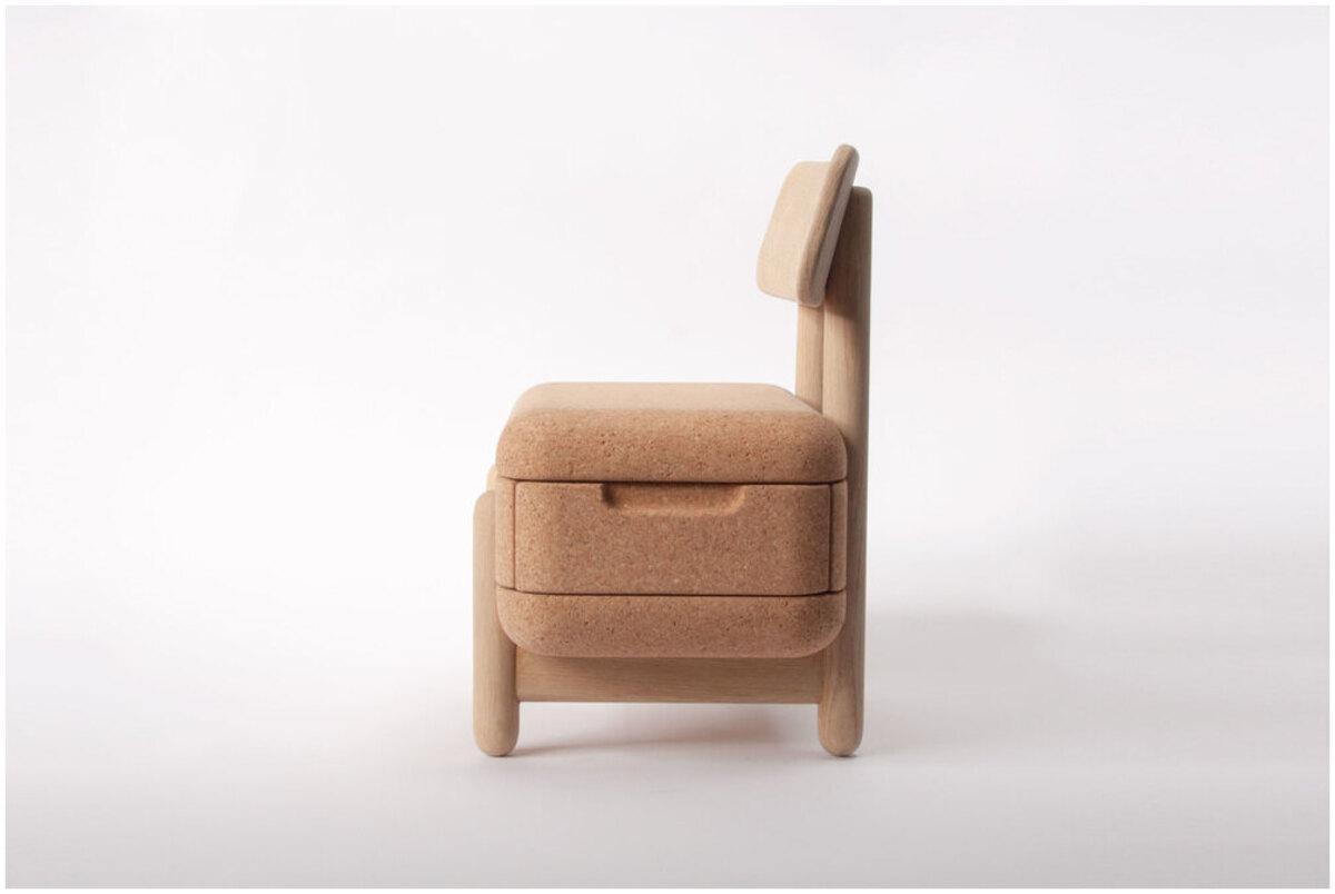 chaise en liège