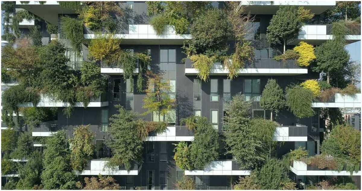 la biophilie intégrée à l'architecture et le design